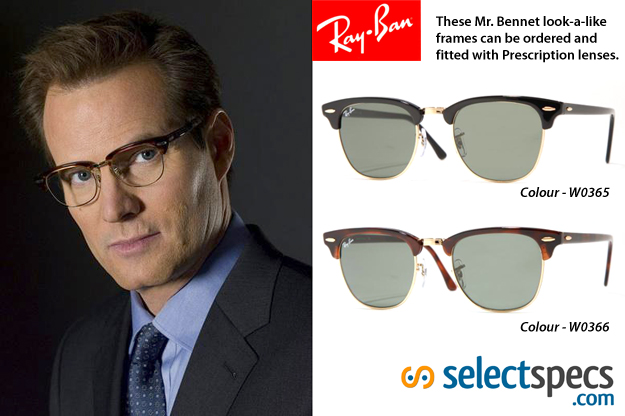 Heroes: HRG - Mr Bennet glasses at Selectspecs