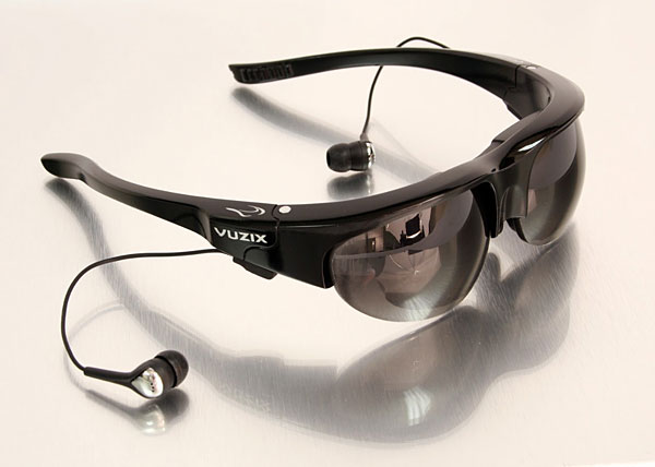 Vuzix previews Wrap 920AV Video Sunglasses