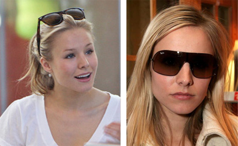 Heroes - Kristen Bell Wearing Ray-Bans