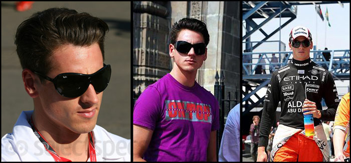 Adrian Sutil wears Ray-Bans