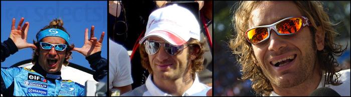 Jarno Trulli Sunglasses