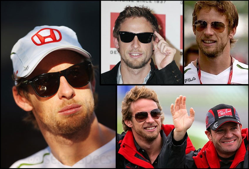 Jenson Button Ray-Ban Sunglasses