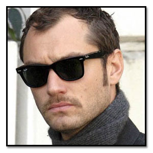 Jude Law Wayfarer Sunglasses