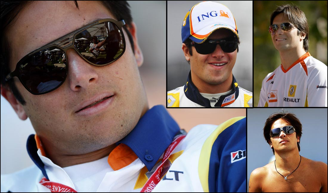 Nelson Piquet Jr Sunglasses
