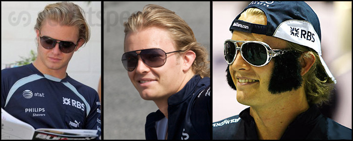 Nico Rosberg Sunglasses