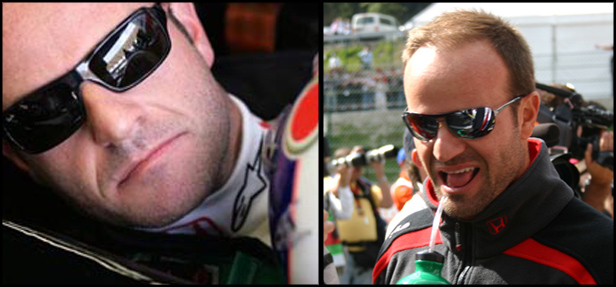 Rubens Barrichello Wears Ray-Ban