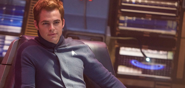 Chris Pine - James T Kirk
