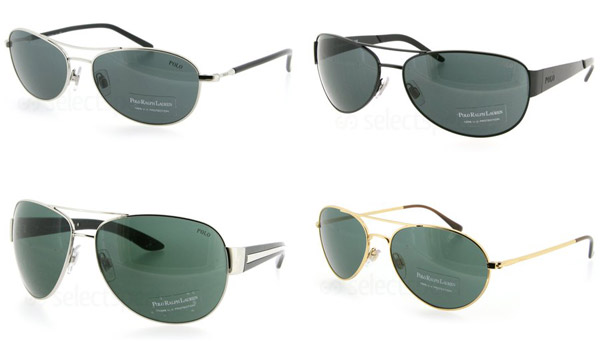 Aviator Sunglasses from Polo Ralph Lauren