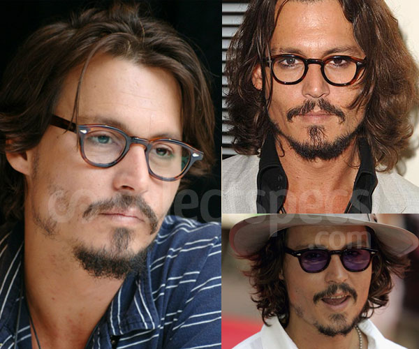 Johnny Depp - Mascot Originals Lemtosh Glasses