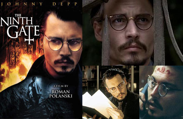 Johnny Depp Glasses - The Ninth Gate