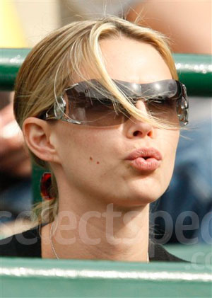 Tommy Haas' Girlfriend, Sara Foster
