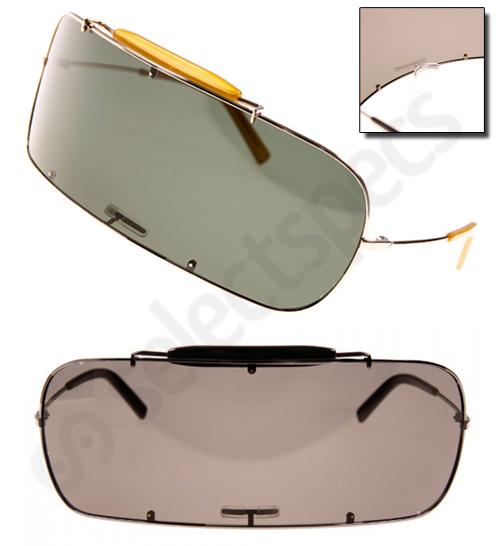 Maison Martin Margiela's Crazy Car-Windscreen Style Sunglasses