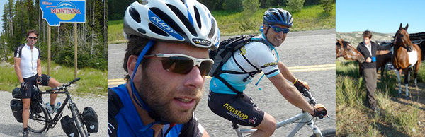 Mark Beaumont Cycles the Americas in Rudy Project