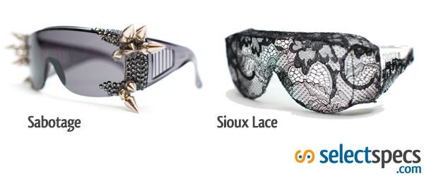 A-morir Sabotage Sioux Lace Sunglasses