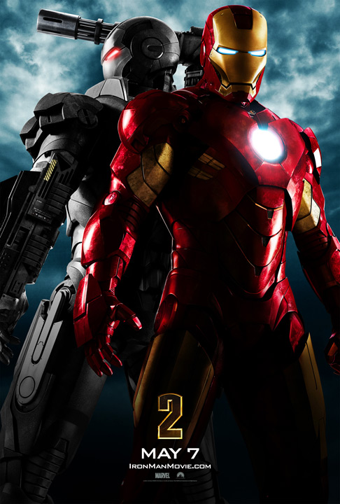 Get the Iron Man 2 Movie Poster Here