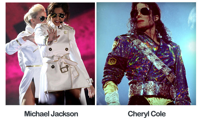 cheryl cole michael jackson seperated at birth