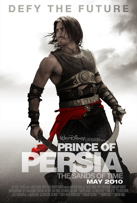 Prince of Persia: Sands of Time - Jake Gyllenhaal - Get This Movie Poster Here