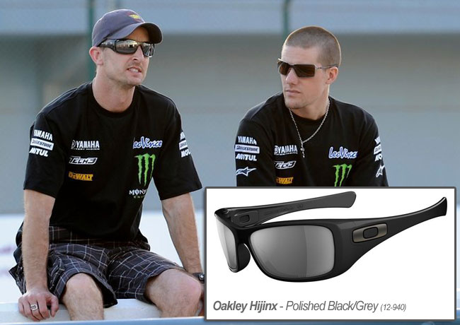 colin edwards wears oakley antix