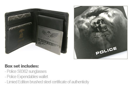 Police Expendables Wallet