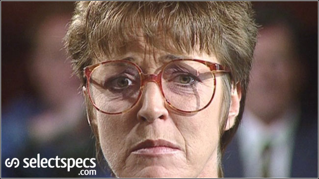 Deirdre Barlow, Sexy in specs? Probably not