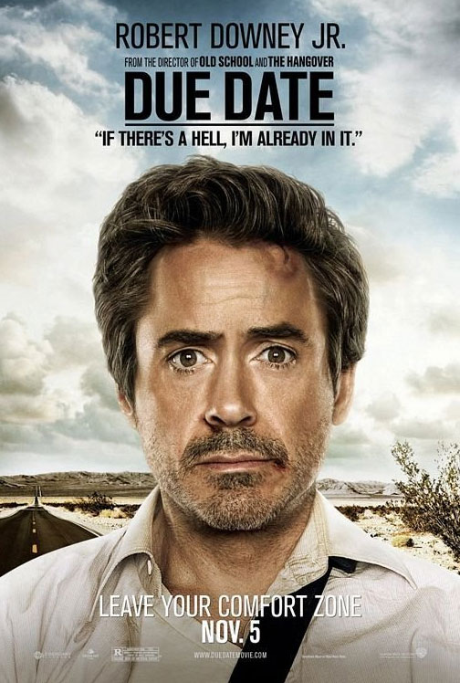 robert downey jr. due date. Due date stars Robert Downey