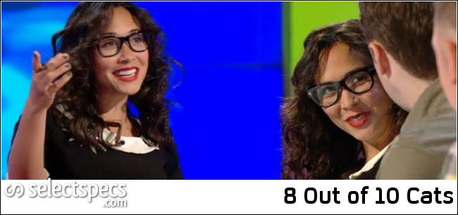 Myleene Klass in Tom Ford FT5040 Glasses – 8 Out of 10 Cats