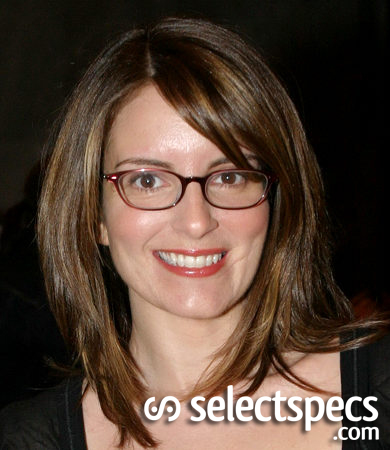 Oval Face - Tina Fey