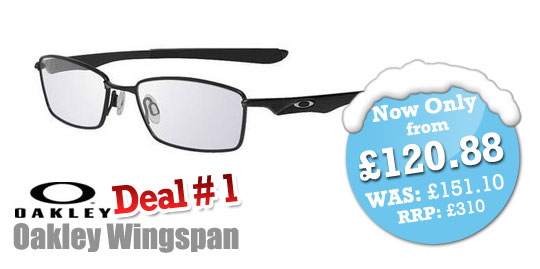 SelectSpecs Weekend Deals - Oakley Wingspan Prescription Glasses