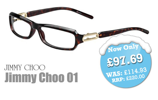 SelectSpecs Deal of the Day - Jimmy Choo 01 Prescription Glasses