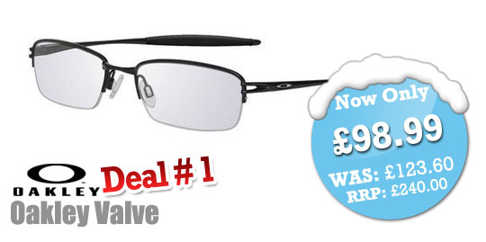 SelectSpecs Weekend Deals - Oakley Valve