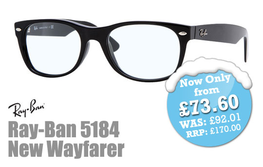 SelectSpecs Deal of the Day - Ray-Ban RX5184 New Wayfarer