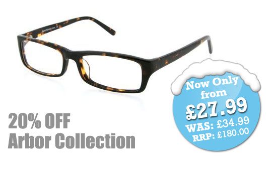 Deal of the Day - Arbor Prescription Glasses