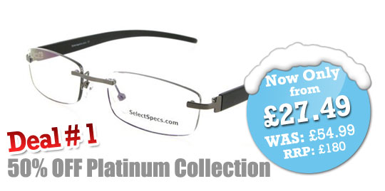 SelectSpecs Platinum Collection Half Price