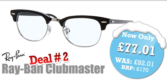 Deal of the Day - Ray-Ban RX5154 Clubmaster
