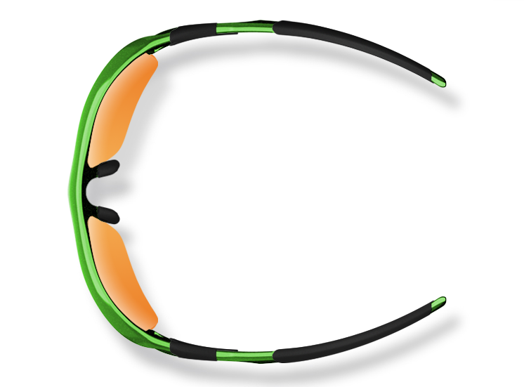 SelectSpecs St Patrick's Day Custom Designed Oakley Flak Jacket (Top)