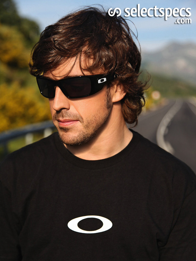 Fernando Alonso Joins Oakley 1
