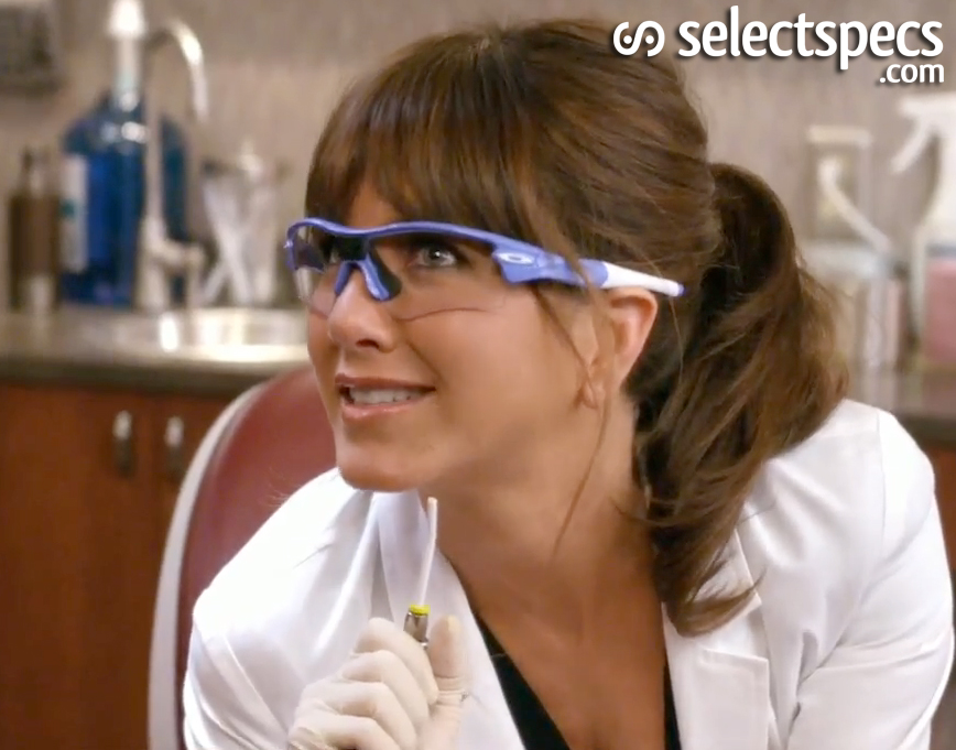fa0f4a59f8c Maneater Jennifer Aniston wears Oakley Glasses in Horrible Bosses ...