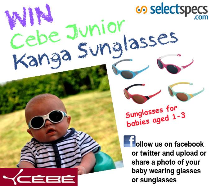 Win Cebe Junior Kanga Sunglasses for your baby
