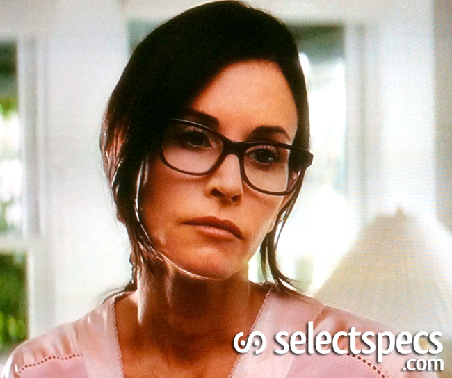 Courtney Cox Sexy Specs in Scream 4