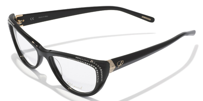 Chopard VCH081S glasses with diamante from SelectSpecs