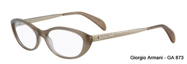 Giorgio Armani GA 873 Cat Eye Style Prescription Glasses from SelectSpecs.com