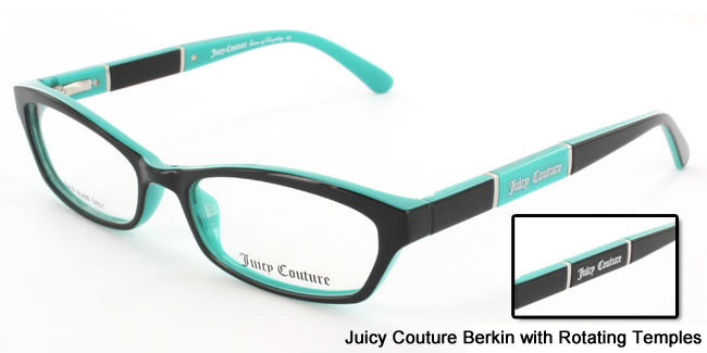 Juicy Couture Berkin with Rotating Temples from SelectSpecs.com