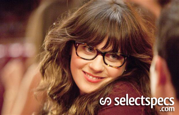 Zooey Deschanel is Adorkable in glasses in New Girl