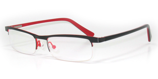Stellar SB1017 Semi-Rimless Glasses from SelectSpecs