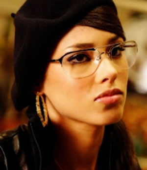 Alicia Keys Poet Glasses