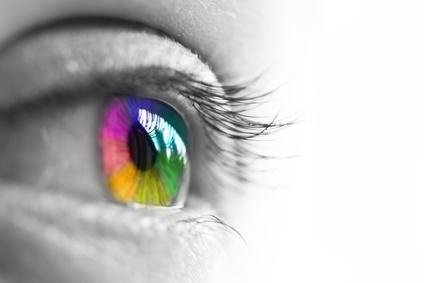 Multi-coloured Iris