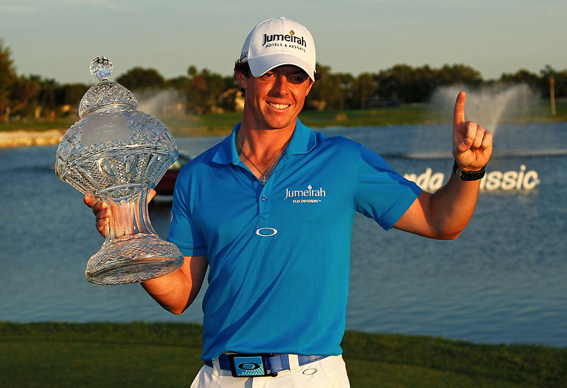 Oakley star Rory McIlroy takes World Number 1