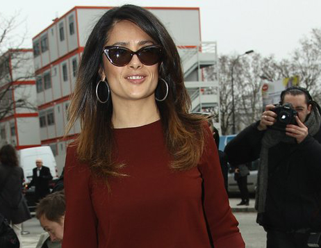 Salma-Hayek-Cats-Eye-Sunglasses
