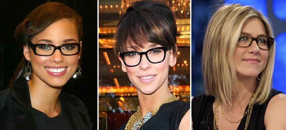 Horn-Rimmed Glasses - Alicia Keys, Jennifer Love Hewitt, Jennifer Aniston