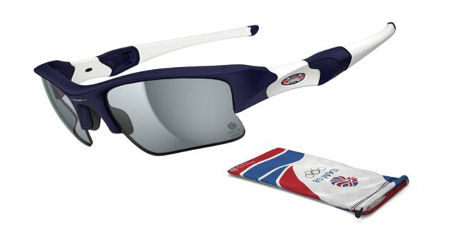 Oakley Team GB Flak Jacket XLJ London 2012 Olympic Sunglasses from SelectSpecs